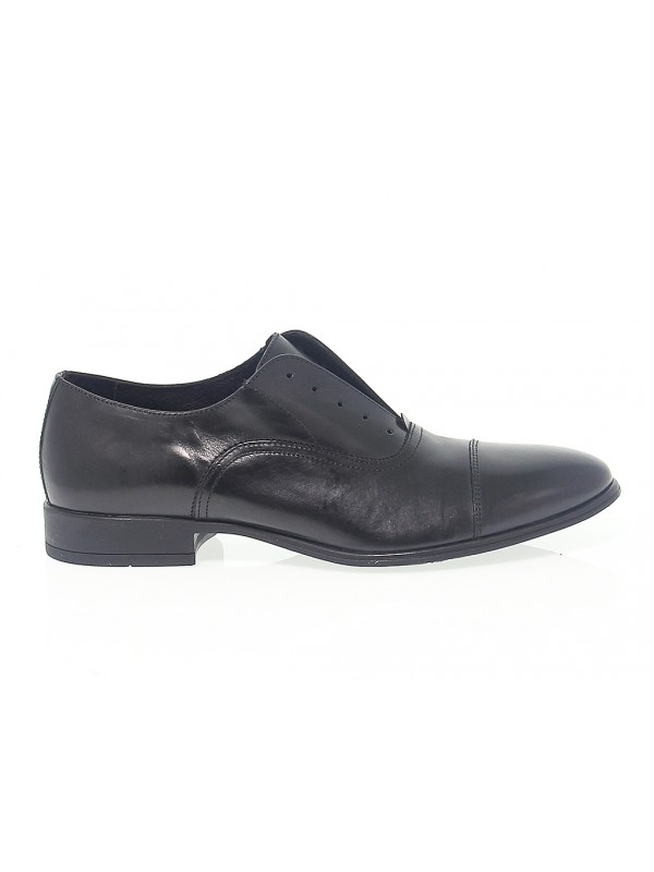 Lace-up shoes Antica Cuoieria in black leather