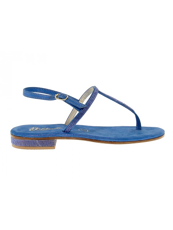Flat sandals Balduccelli in leather