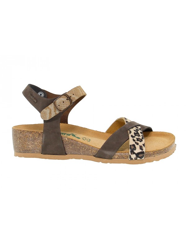 Wedge Bionatura FREGENE in dark brown nubuck