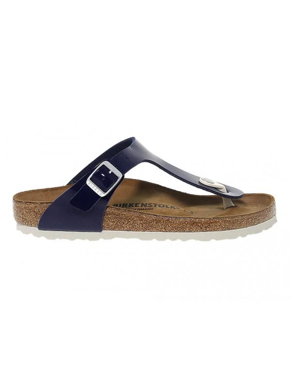 Flat sandals Birkenstock GIZEH in leather