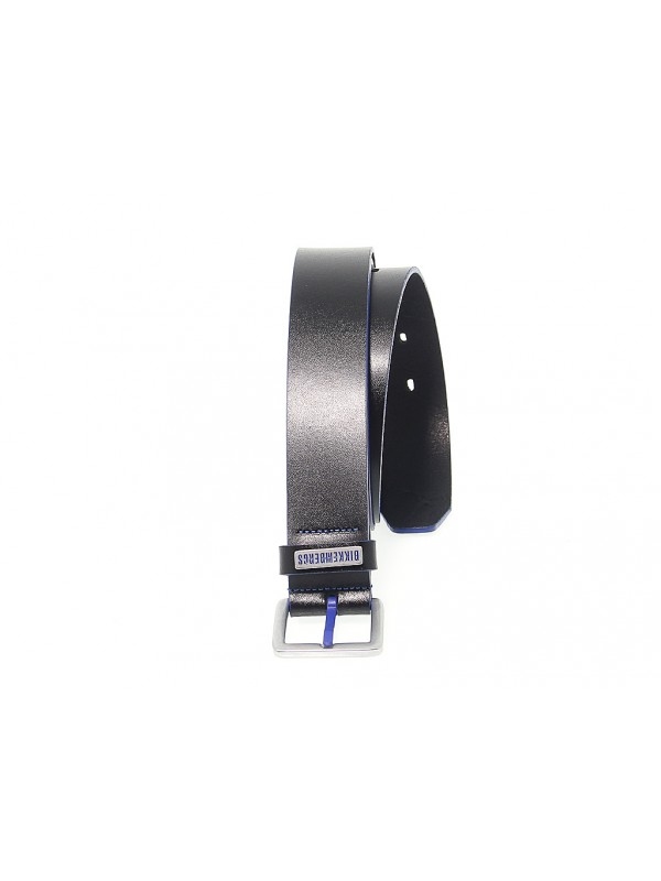 Belt Bikkembergs EDGE PAINTED DB H in leather