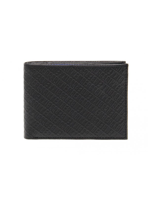Wallet Bikkembergs WALLET ALLOVER in leather