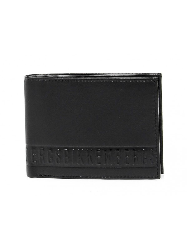 Wallet Bikkembergs WALLET STRIPE in leather