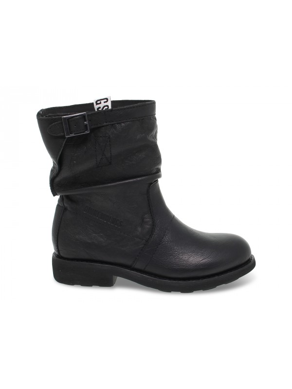 Ankle boot Bikkembergs VINTAGE VIOLANTE in black leather