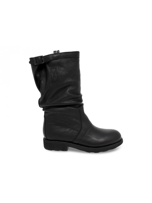 Boot Bikkembergs VINTAGE VIETTA in black leather
