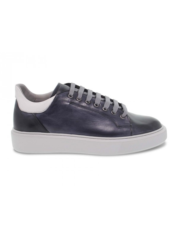 Sneakers Brecos WIMBLEDON in blue leather