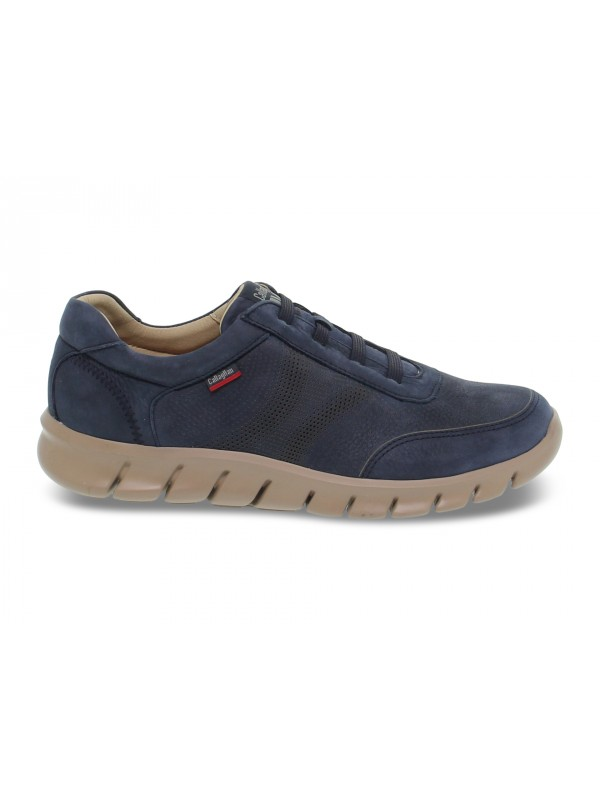 Lace-up shoes Callaghan in blue nubuck