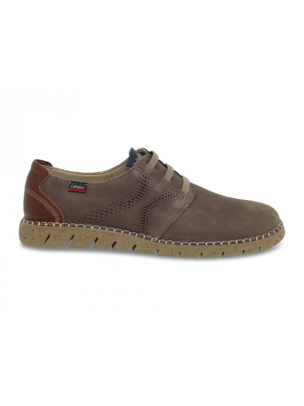 Lace-up shoes Callaghan in taupe nubuck