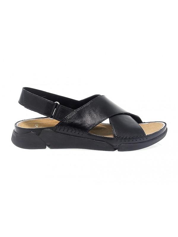 Flat sandals Clarks TRI ALEXIA in leather