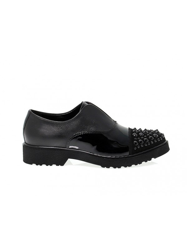 Flat shoe Cult in leather