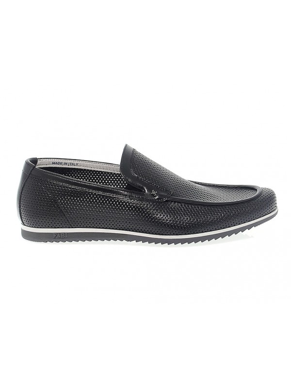Loafer Fabi in black tassel