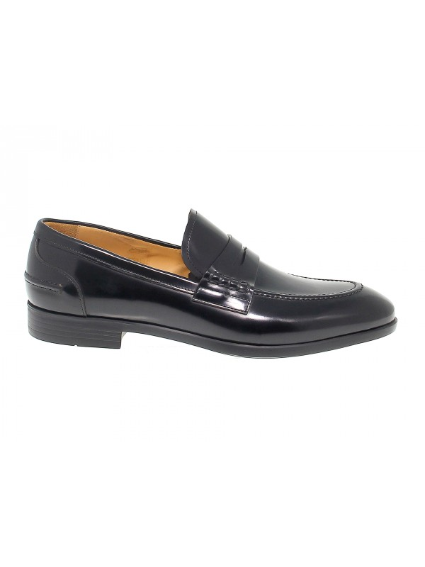 Loafer Fabi in black brushed
