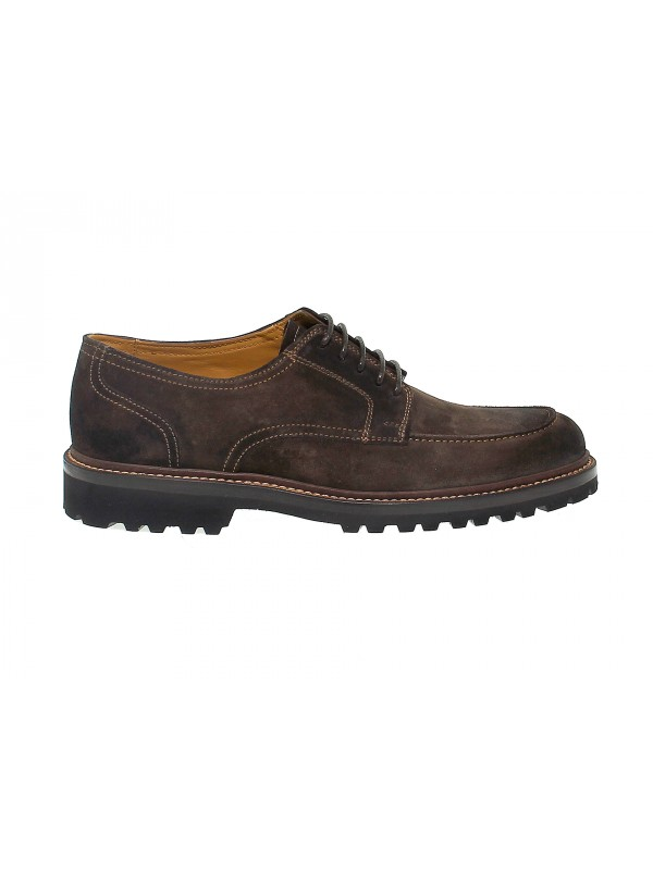 Lace-up shoes Fabi Must Eve in brown suede leather