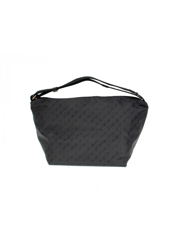 Handbag Gherardini EASY in black fabric