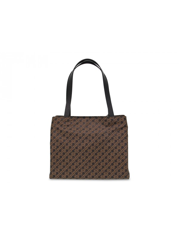 Tote bag Gherardini SOFTY in tobacco fabric