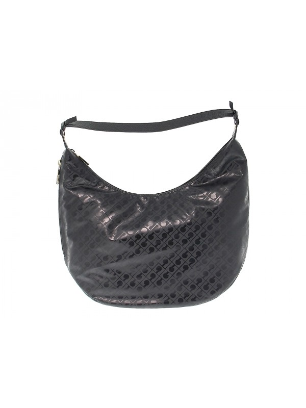Tote bag Gherardini SOFTY in black fabric