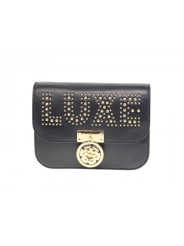 Shoulder bag Guess BOXY in leather