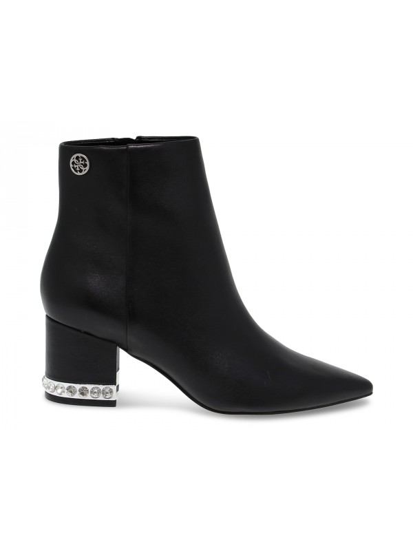 Ankle boot Guess in black leather