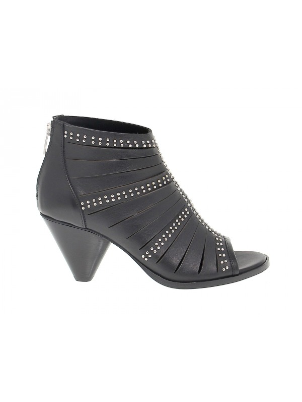 Heeled sandal Janet And Janet in leather