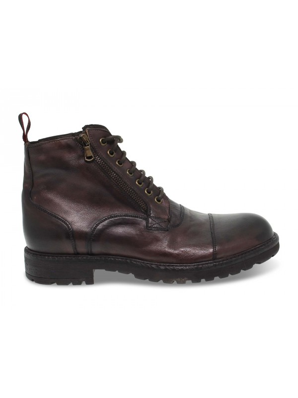 Low boot Jp David in brown leather