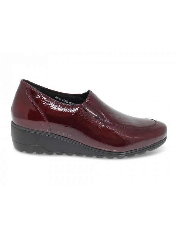 Flat shoe Mephisto BERTRANE MOBILS ERGONOMIC in bordeaux paint