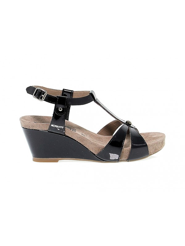 Heeled sandal Mephisto BRIANA in leather