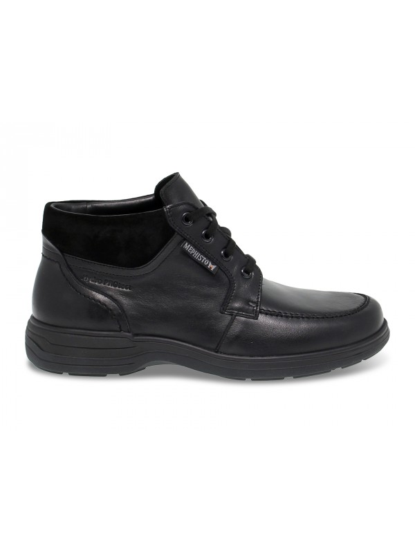 Low boot Mephisto DARWIN RIKO in black leather