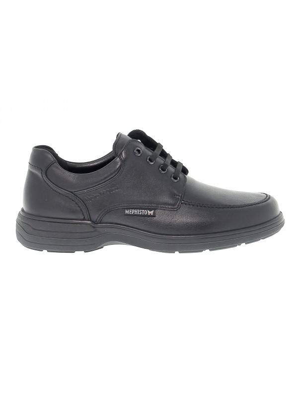 Lace-up shoes Mephisto DOUK RIKO in black leather