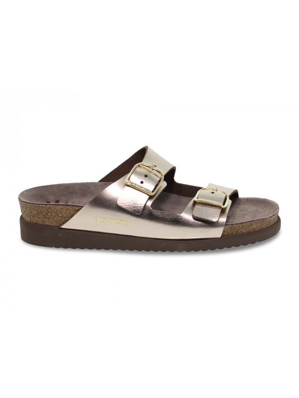 Flat sandals Mephisto HARMONY STAR in platinum laminate