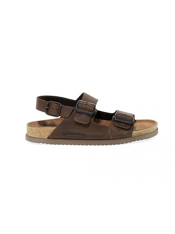 Sandal Mephisto NARDO in dark brown nubuck