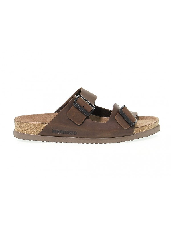 Sandal Mephisto NERIO in dark brown nubuck