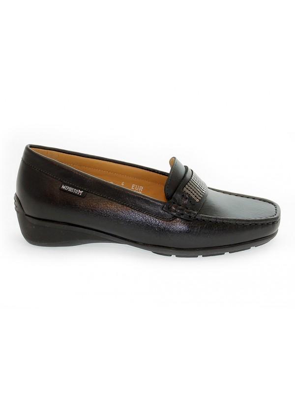 Flat shoe Mephisto NICOLE in leather