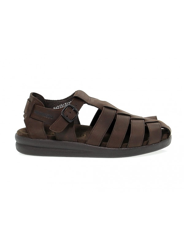 Sandal Mephisto SAM in dark brown leather