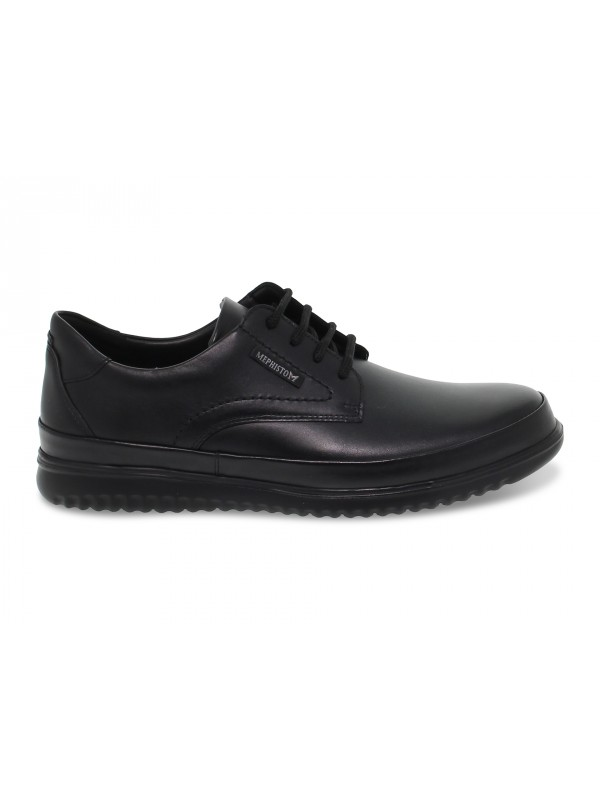 Lace-up shoes Mephisto TEDY in black leather