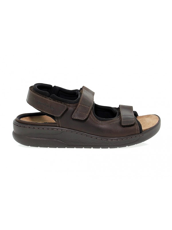 Sandal Mephisto VALDEN MOBILS ERGONOMIC in dark brown leather