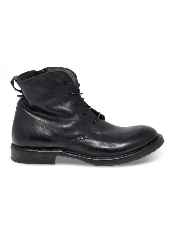 Ankle boot Moma in black leather