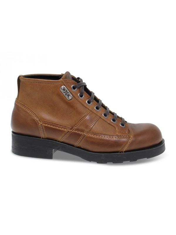 Ankle boot OXS FRANK 1900 in brown leather