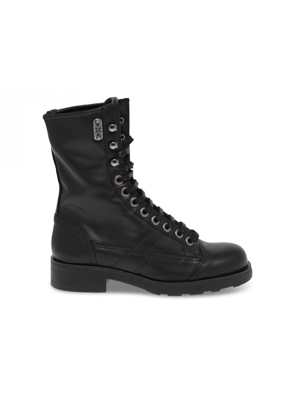 Ankle boot OXS FRANK 1902 in black leather