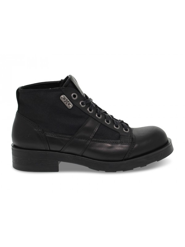 Ankle boot OXS FRANK 1900 in black leather