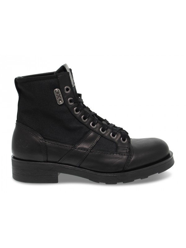 Ankle boot OXS FRANK 1901 in black leather