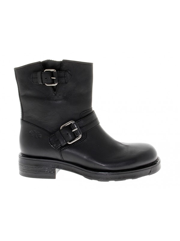 Boot OXS in leather