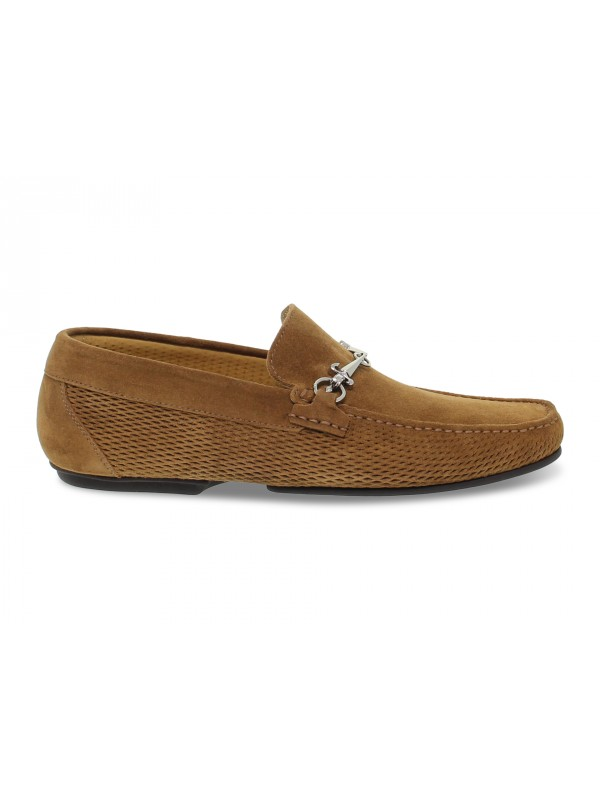 Loafer Cesare Paciotti GUCCI in leather suede leather