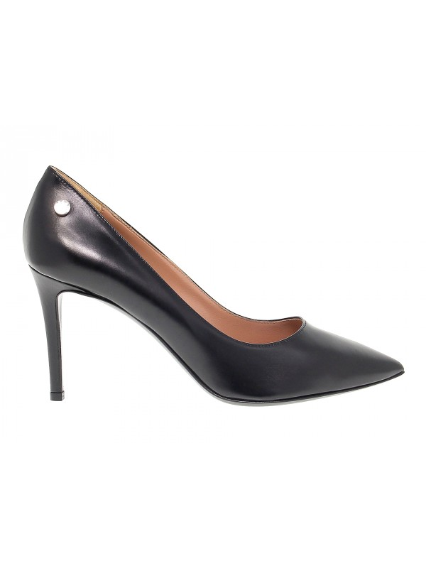 Pump Pollini in leather