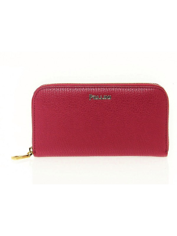 Wallet Pollini in leather