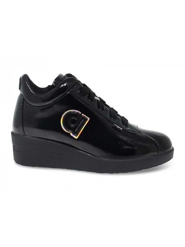 Sneakers Ruco Line AGILE in black paint