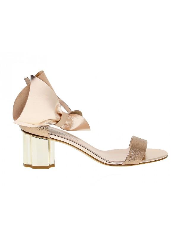 Flat sandal Guido Sgariglia in leather