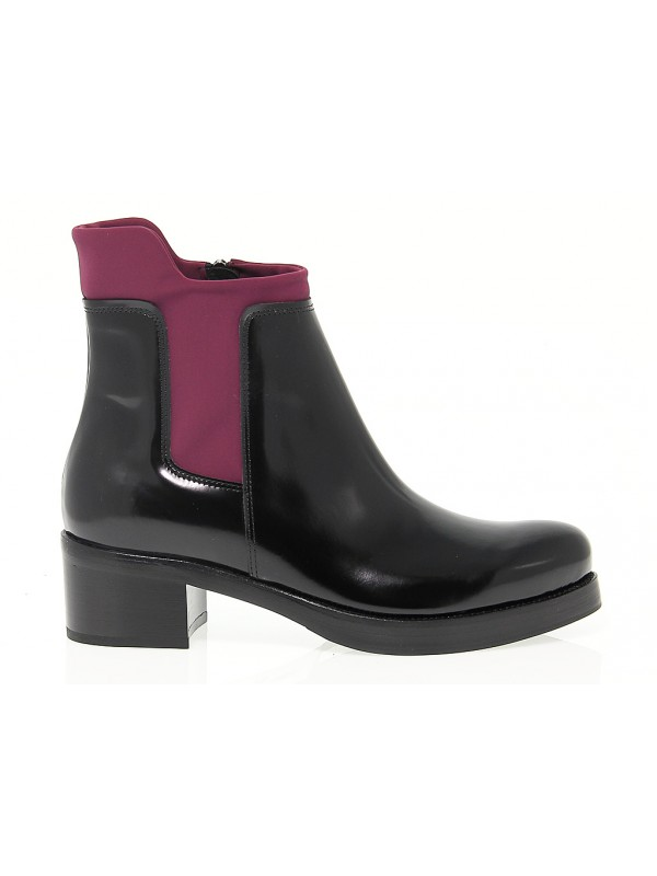 Ankle boot Guido Sgariglia in leather