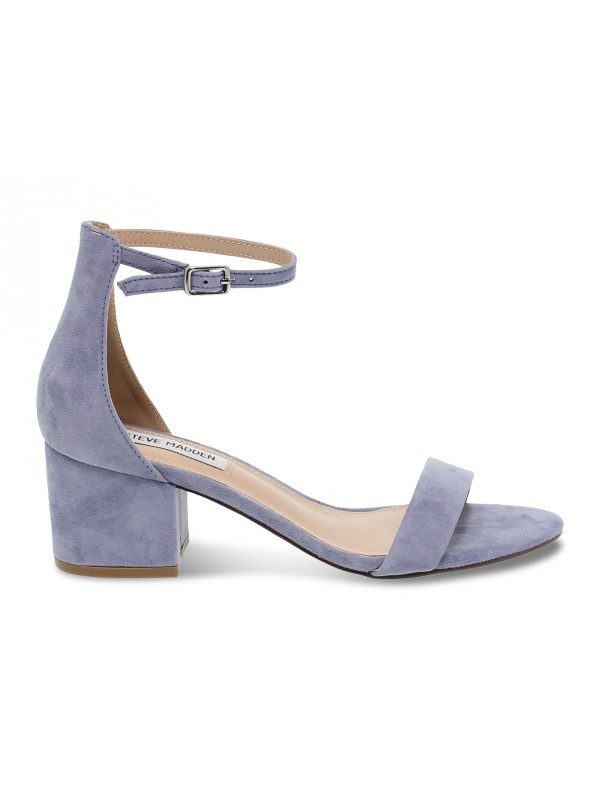 Flat sandals Steve Madden IRENEE LAVANDER in lavender suede leather