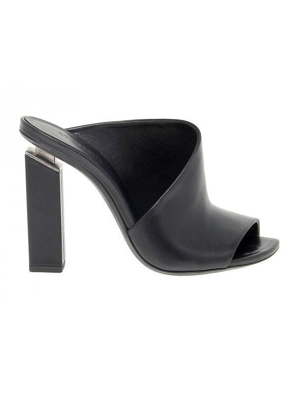 Heeled sandal Vic Matie in leather