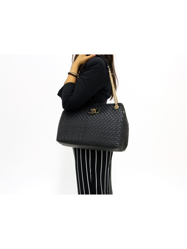 Tote Bag Guess Lola In Leather Guidi